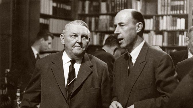 Ludwig Erhard at the HSG